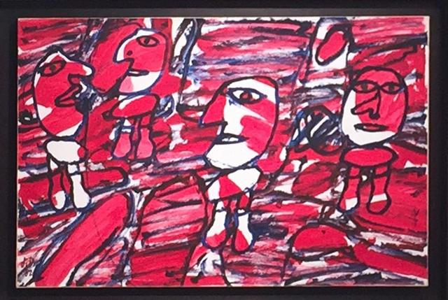 , 'Site aléatoire avec 4 personnages,' 1982, Rosenfeld Gallery LLC