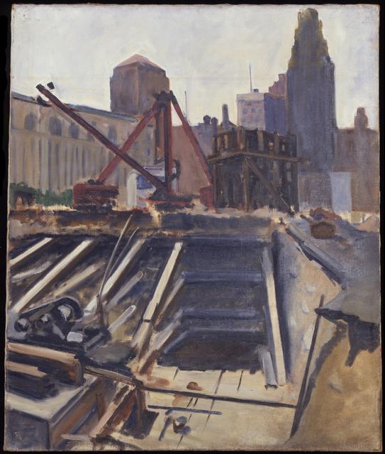Alexander Calder, 'Untitled (Excavation)', 1924, Calder Foundation