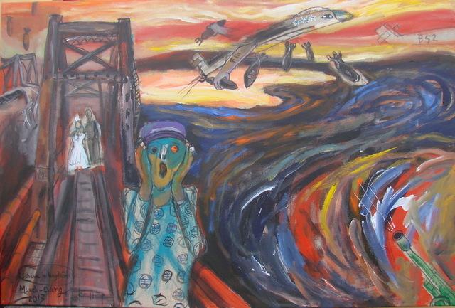 , 'The Scream on Long Bien Bridge,' 2013, Art Vietnam Gallery