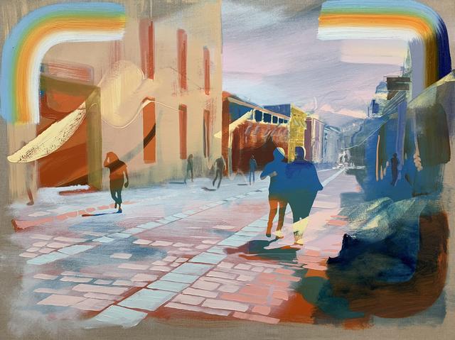 Andrew Fish, 'Neighbors', 2018, Childs Gallery