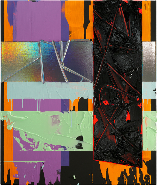 Anselm Reyle, 'Untitled', 2020, Painting, Mixed media on canvas, KÖNIG GALERIE