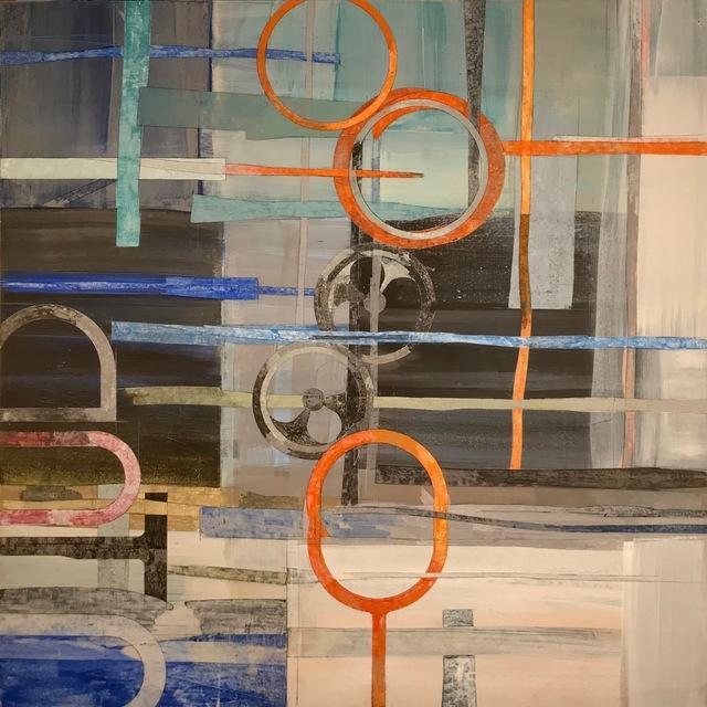 Mark Smith, 'Signal Painting #6 Night Talk', 2018, William Campbell Contemporary Art, Inc.