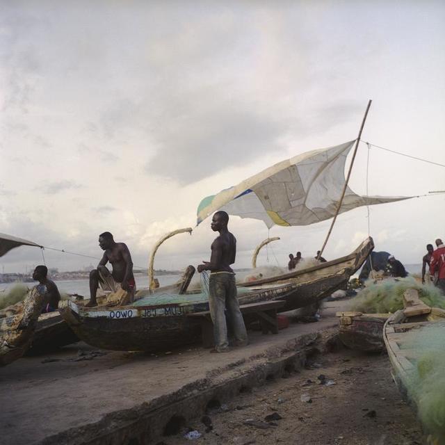 , 'La voile à James Town, Ghana,' 2009, Galerie Peter Sillem
