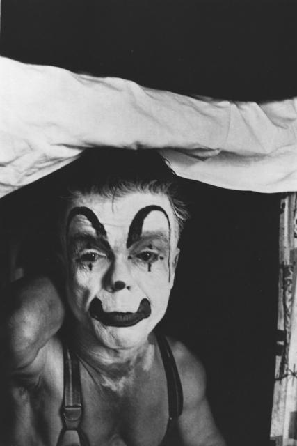 , 'Dwarf Clown, Palisades, NJ,' ca. 1958, Elizabeth Houston Gallery