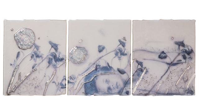 , 'Silver Flowers,' 2017, Callan Contemporary