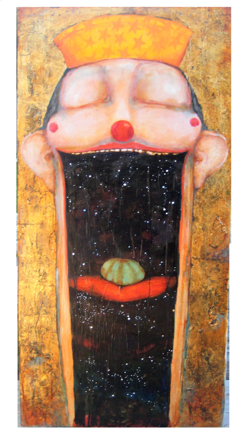 David Geiser, 'Peyote Cosmic Mouth Oracle', 2017, Art Ventures Gallery