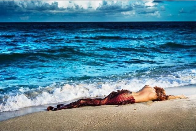 David Drebin, 'Mermaid in Paradise II', Art Angels