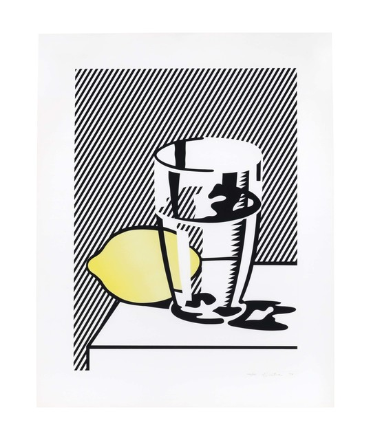 Roy Lichtenstein, 'Untitled (Still Life with Lemon and Glass), from For Meyer Schapiro', 1974, Christie's