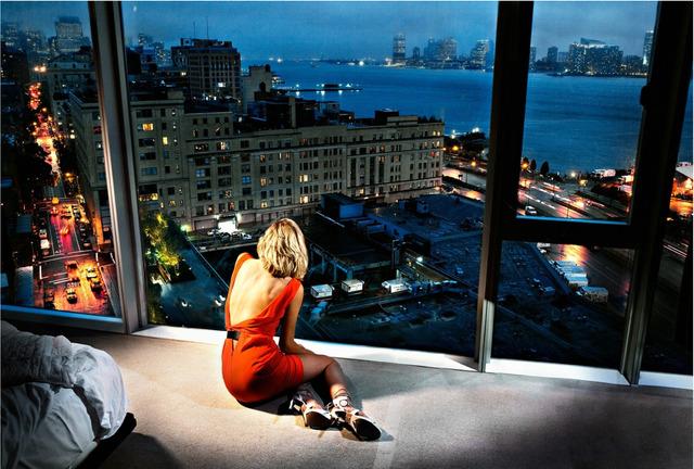 David Drebin, 'Girl in the Orange Dress', 2009, Photography, Digital C Print, Contessa Gallery
