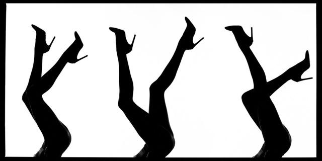 Tyler Shields, 'Leg Silhouette', 2020, Photography, Chromogenic Print, Samuel Lynne Galleries