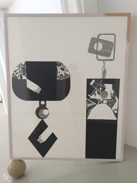 , 'CLOSE TO THE CONCIOUS SELF,' 2014, Galería Bacelos