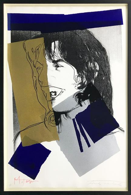 Andy Warhol, 'MICK JAGGER FS II.142', 1975, Gallery Art