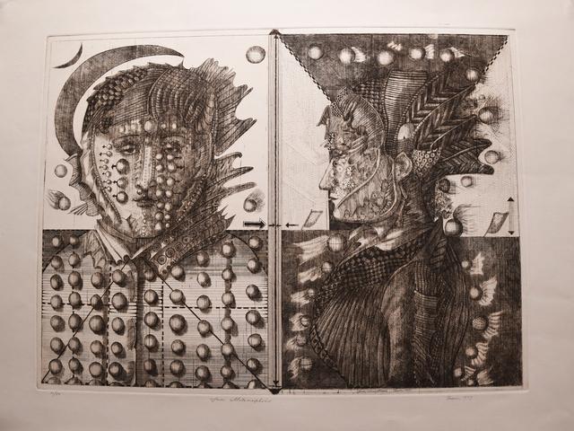 Burt Hasen, 'Faces Metamorphosis', 1977, Anita Shapolsky Gallery