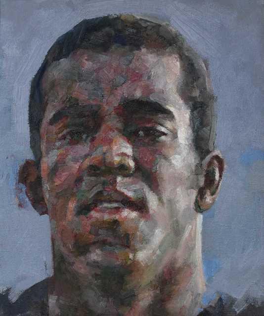 , 'Head Of A Man,' 2018, Reuben Colley Fine Art
