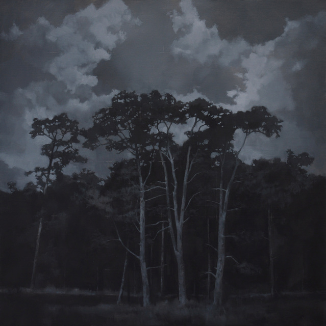 , 'These Dark Woods | Margin,' , Beside the Wave