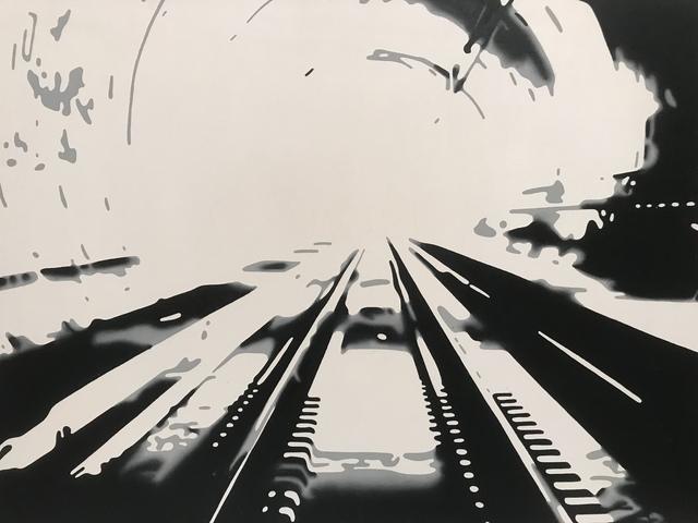 Markus Huemer, 'Nymphomane Hündinnen sind zwangsläufig', 2016, Painting, Oil on canvas, Rudolf Budja Gallery