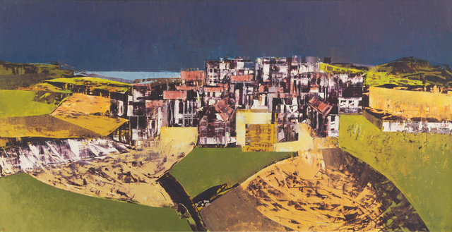 , 'Landscape and Town II,' ca. 1950, Messum's