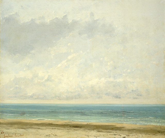 Gustave Courbet, 'Calm Sea', 1866, National Gallery of Art, Washington, D.C.