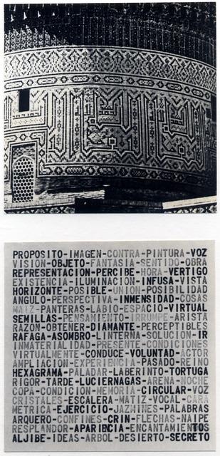 , 'Transcódigo,' 1978, Herlitzka + Faria