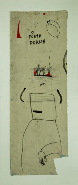 , 'O Poeta Dorme,' No Date, Roberto Alban Galeria de Arte