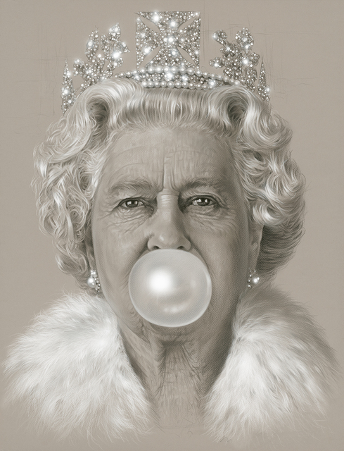 , 'The Queen Bubble Gum,' 2016, Maddox Gallery