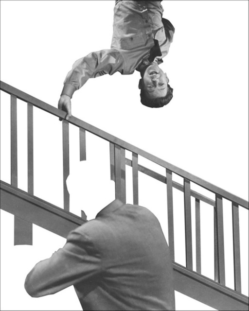 , 'Stairway, Coat and Person,' 2011, CCA Wattis Institute For Contemporary Arts