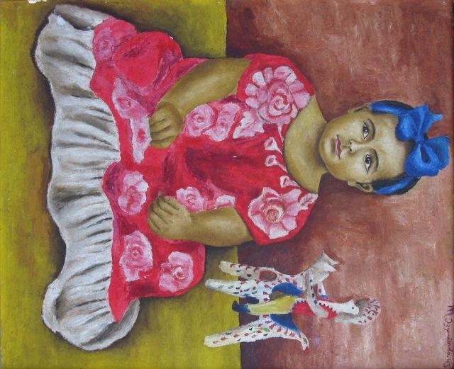 , 'Cibeles Henestrosa niña,' 1943, Oscar Roman