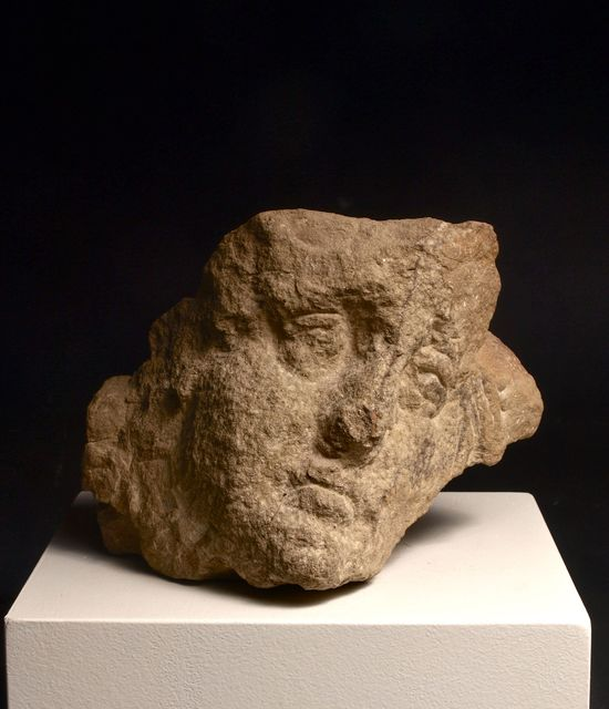 , 'Umbrian Head in Stone, 11,' 1986, Loretta Howard Gallery