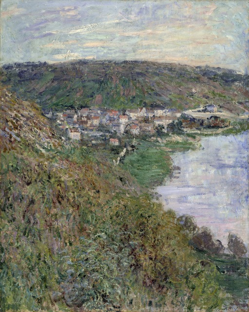 Claude Monet, 'View of Vétheuil', 1880, Los Angeles County Museum of Art