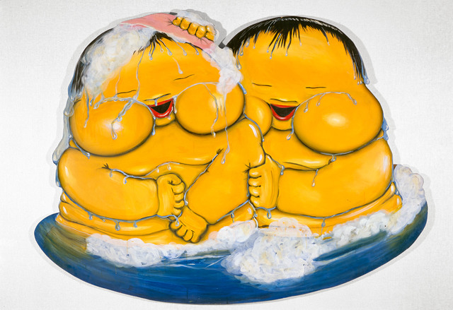 ", '""Zwei gelbe Babies (Two Yellow Babies)"",' 1967, Michael Werner Gallery"