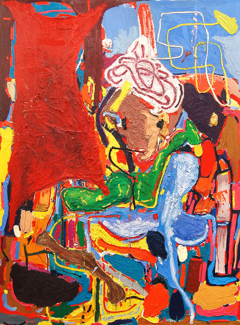, 'Aladdin and the Magic oil Lamp,' 2010, Carbon 12