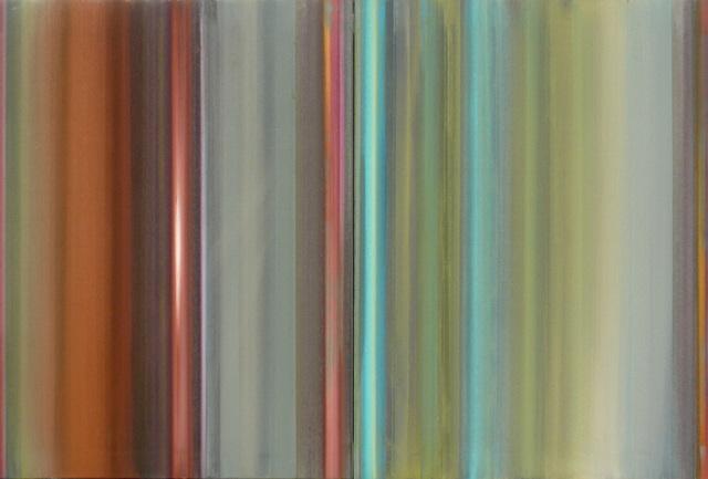 , 'diapason diptyque,' 2009, PontArte