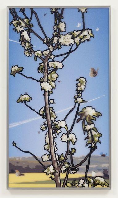 Julian Opie, 'French Landscapes: Apple Tree', 2013, Hamilton-Selway Fine Art