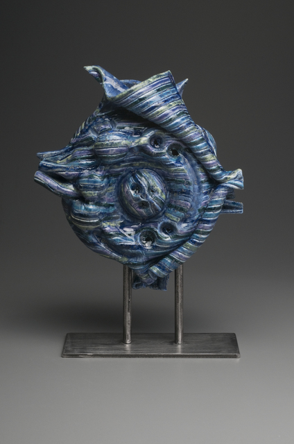 , 'Blue Mollusk Sculpture,' , InLiquid