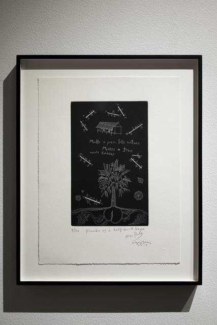 , 'Planks of a Half Built House,' 2010, Sage Culture