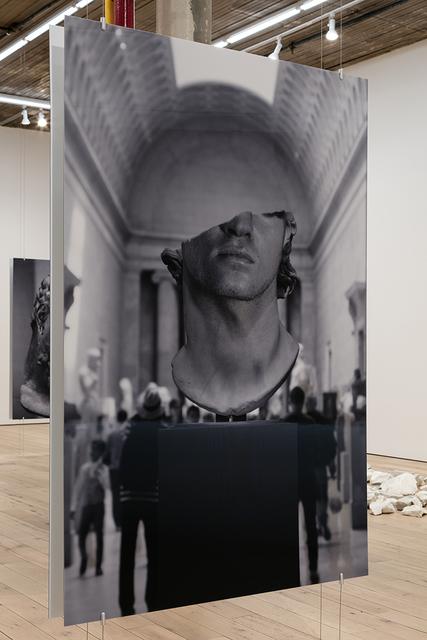 , 'Colossal Head,' 2018, MARTOS GALLERY
