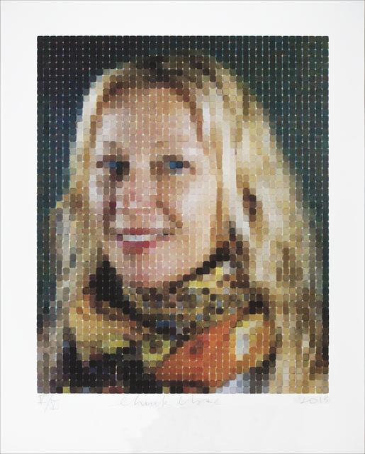 Chuck Close, 'Cindy (Smile)', 2013, Adamson Gallery