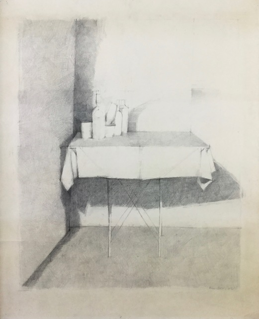 , 'Still Life on a Table,' 1968, Jenna Burlingham Fine Art