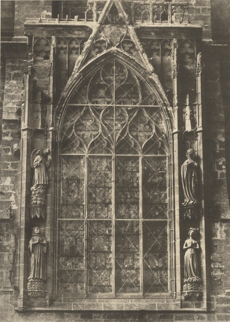 , 'Chartres Cathedral,' Negative 1852; print 1870s, J. Paul Getty Museum