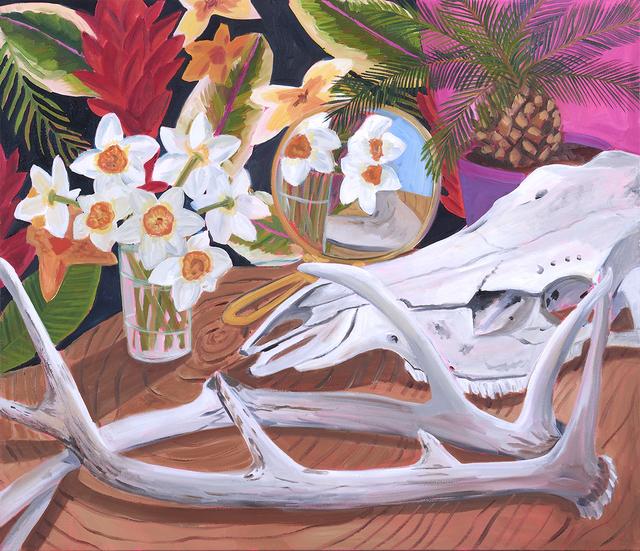 Anna Valdez, 'Spring Daffodils and Desert Bones', 2019, Nancy Margolis Gallery