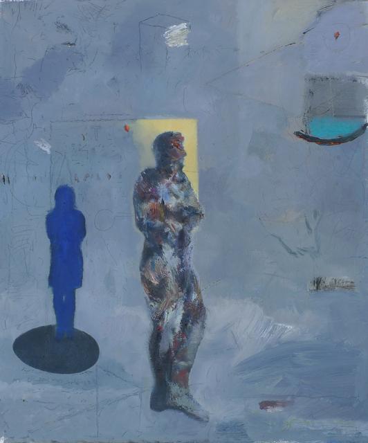 , 'Blue Girl,' 2017, EBONY/CURATED