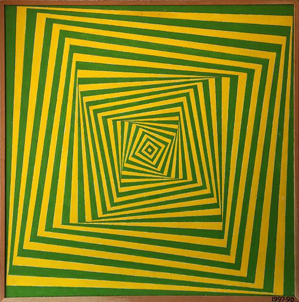 , 'Bamboleo de amarillos y verdes,' 1997-1998, Herlitzka + Faria