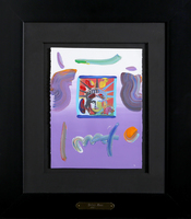Peter Max, Liberty Head (Purple)