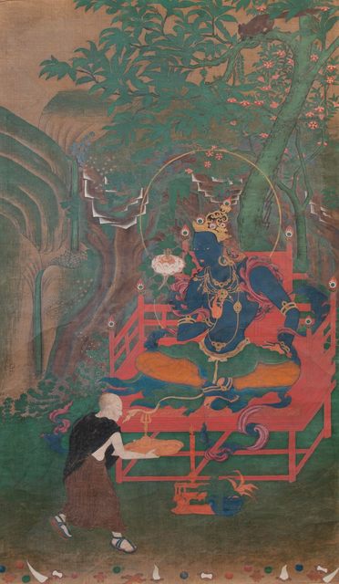 , 'Thangka of Vajrapani,' 18th century, Rossi & Rossi