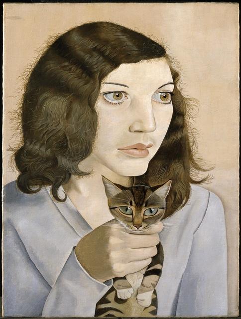 , 'Girl with a Kitten ,' 1947, ARoS Aarhus Art Museum