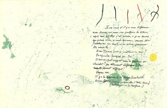 Joan Miró, 'Album 19 Original Lithographs pages 1,14', 1961, ArtWise