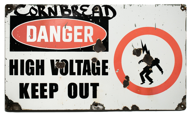 , 'Danger High Voltage Keep Out,' 2019, Paradigm Gallery + Studio