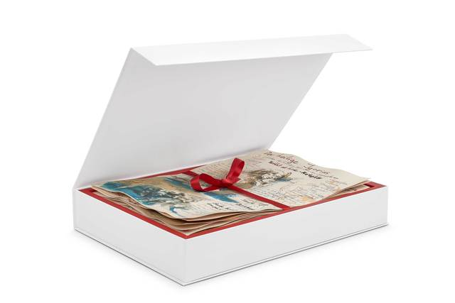 ", 'Sketch Box ""Der heilige Igorius"",' 2018, Christian Marx Galerie"