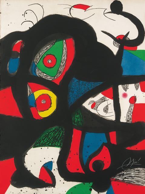 Joan Miró, 'Gargantua', 1977, Galerie Boisseree