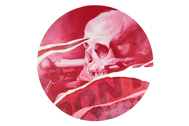 Pedro Matos, 'Skull', 2012, Painting, Oil On Canvas, Chiswick Auctions